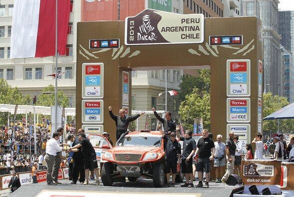 Das HS Rallye Team freut sich über das Ergebnis