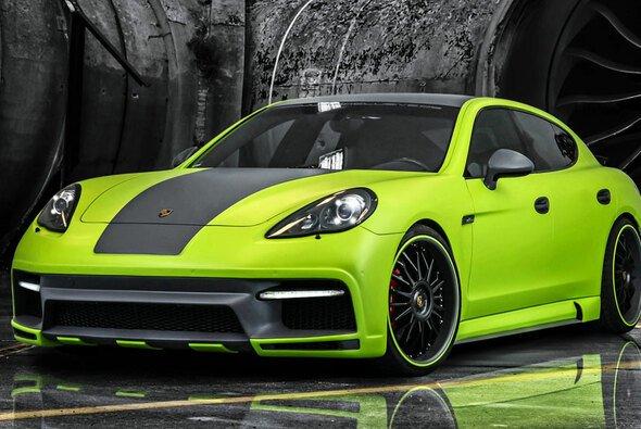 Unauffällig geht anders - der Porsche Panamera von Regula Exclusive