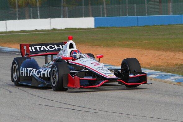 Die IndyCar-Piloten testen in Sebring