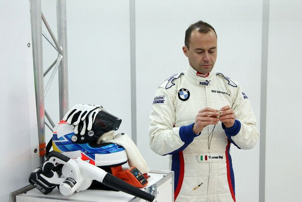 Ein wahrgewordener Traum: Thomas Biagi testet einen BMW M3 DTM