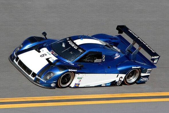 Der Michael-Shank-Prototyp auf der Strecke am Daytona Beach