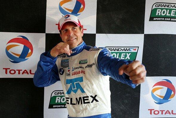Auf dem Daytona-Kurs ganz vorne: Pole-Mann Scott Pruett - Foto: Grand-Am