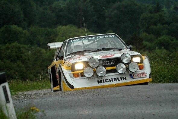 Walter Röhrl wird den Audi Quattro S1 pilotieren