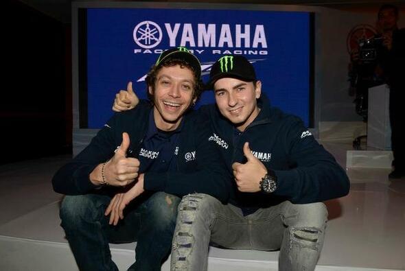 Rossi und Lorenzo: Arbeiten sie 2013 besser zusammen?