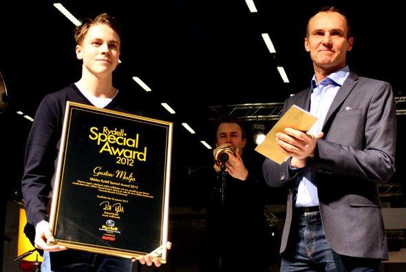 Gustav Malja beendete die ADAC Formel Masters Saison 2012 als Zweiter