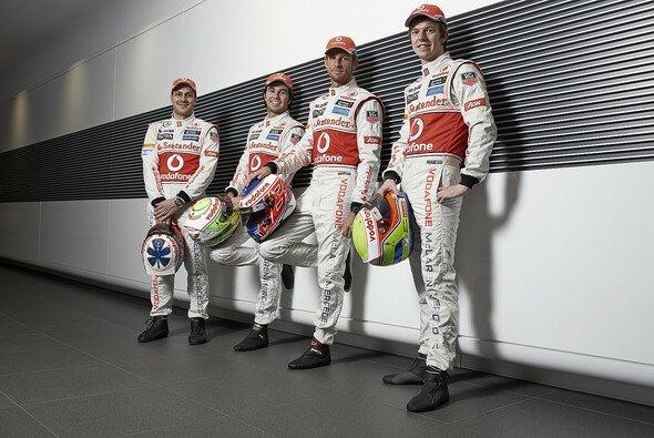 Die McLaren-Fahrer erhalten 2013 weiteren Zuwachs