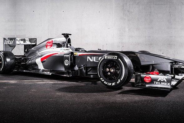 Der neue Sauber C32