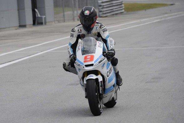 Danilo Petrucci war der Fleißigste am zweiten CRT-Testtag