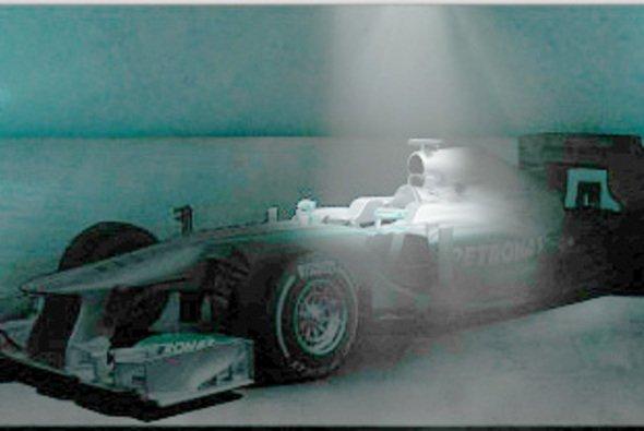 Am Montag wird der Mercedes-Silberpfeil offiziell vorgestellt