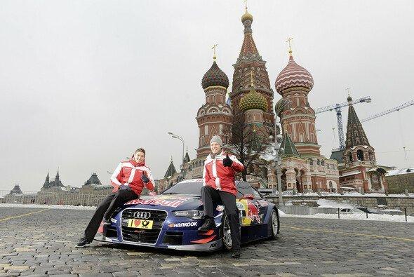 Audi stattete Moskau breeits einen Besuch ab - Foto: Audi