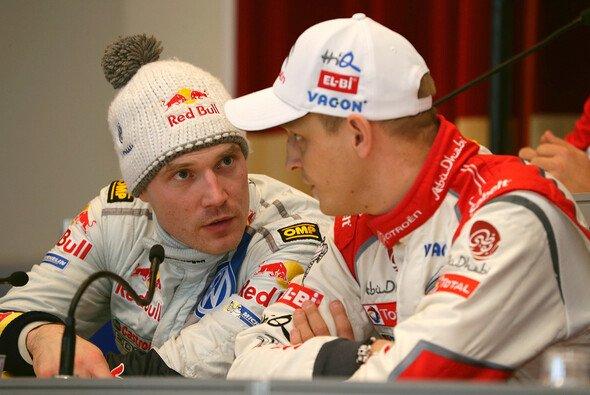 Jari-Matti Latvala und Mikko Hirvonen kennen sich sehr lange