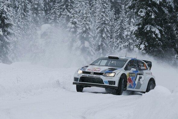 Sebastien Ogier zeigt das Potenzial des Polo R WRC auf Schnee und Eis