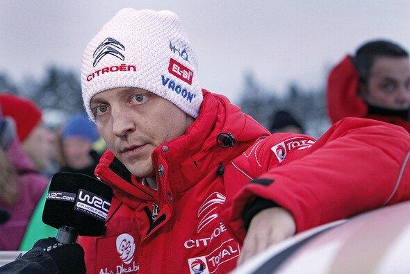 Mikko Hirvonen hat in der Fahrermeisterschaft bereits einen satten Rückstand auf Teilzeitrentner Sebastien Loeb