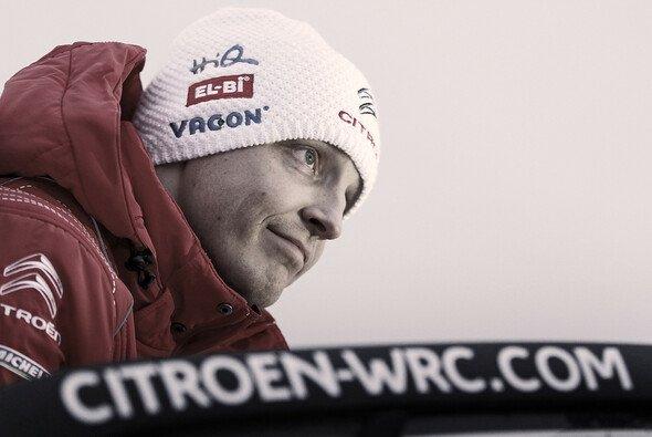 Mikko Hirvonen muss eine deutliche Leistungssteigerung hinlegen