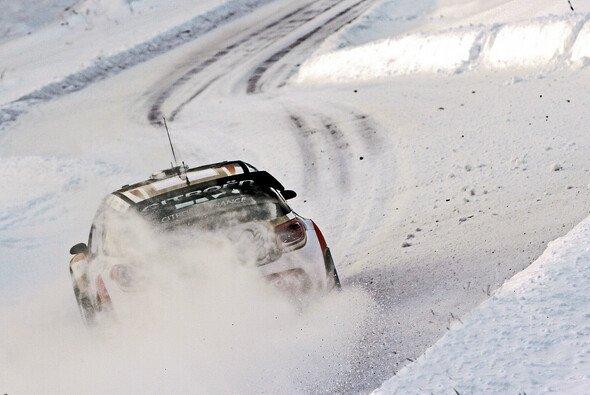 Sebastien Loeb haderte mit den Bedingungen am ersten Tag