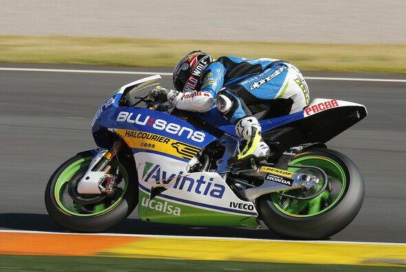 Toni Elias legte die erste Test-Bestzeit in Jerez vor