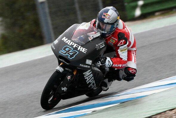 Jonas Folger schaffte am zweiten Testtag in Jerez viel