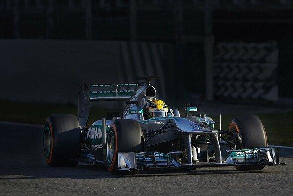 Lewis Hamilton erzielte am Freitag die Bestzeit in Barcelona