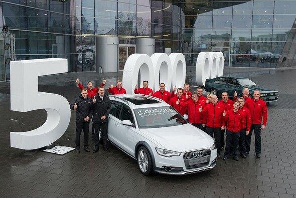 Audi feiert Jubiläum