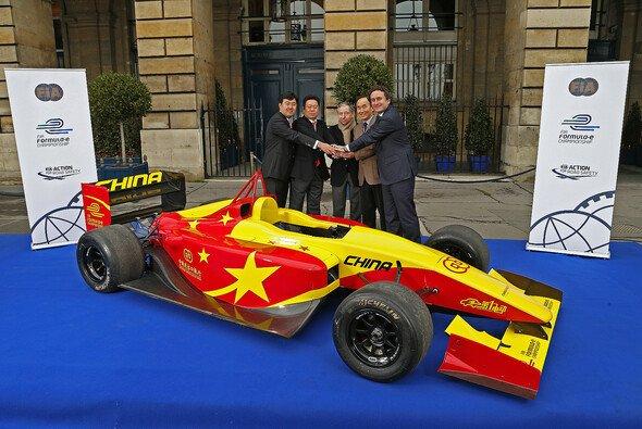 China Racing wurde in Paris als zweites Formel-E-Team vorgestellt - Foto: Formel E
