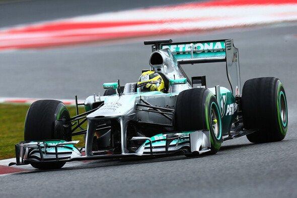 Nico Rosberg war der schnellste Mann in Spanien