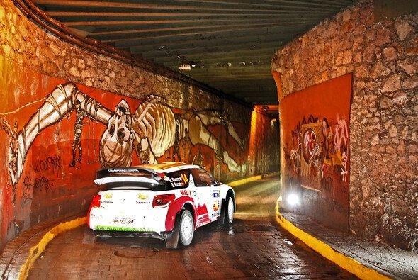 Ein gutes Ergebnis bei der Rallye Mexiko ist für Benito Guerra zukunftsweisend