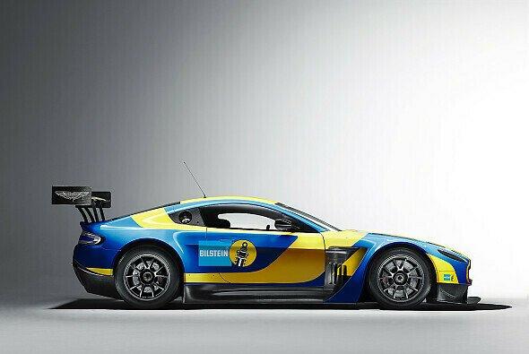 Aston Martin tritt auf der Nordschleife in Bilstein-Farben an - Foto: Aston Martin Racing