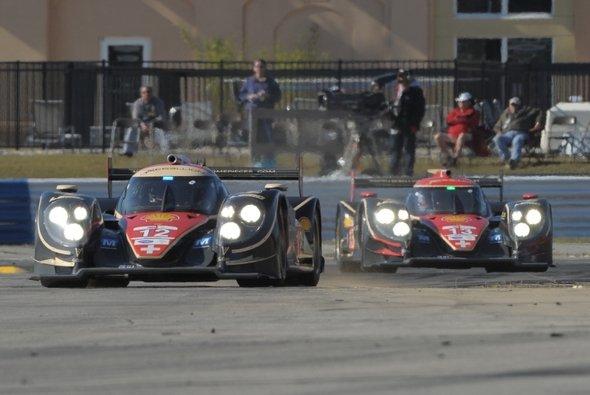 Die Lola-Toyota von Rebellion Racing kamen auf die Plätze drei und fünf - Foto: ALMS