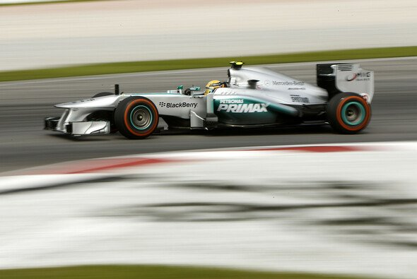 Mercedes fokussierte sich auf das richitge Reifenmanagement - Foto: Mercedes-Benz