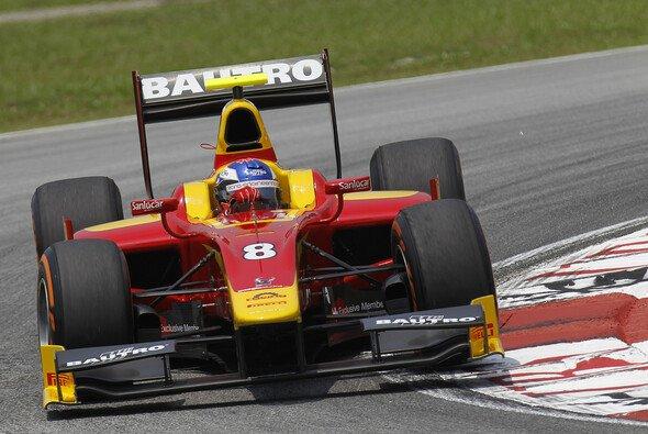 Fabio Leimer konnte den GP2-Auftakt in Malaysia gewinnen