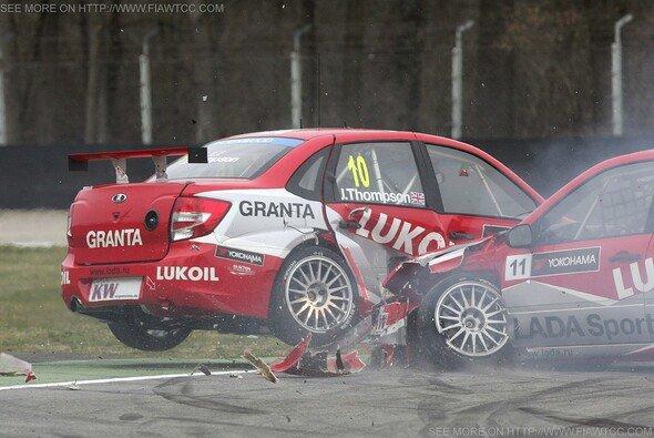 Die teaminterne Kollision in Monza führte zu Umstrukturierungen bei Lada