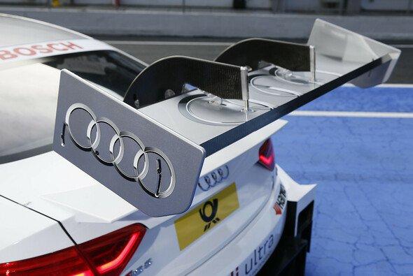 Inspiriert von der Formel 1 führte die DTM 2013 den Klappflügel ein