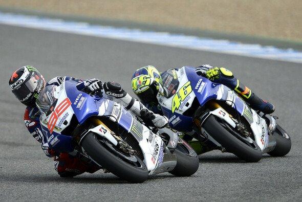 Neben den neuen Qualifikationen dürfte die Rossi-Lorenzo-Konstellation bei Yamaha die größte Spannung in der kommenden Saison versprechen - Foto: Milagro