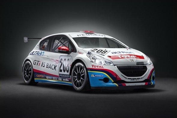 Peugeot greift mit dem 208 GTi Sport beim 24-Stunden-Rennen an - Foto: Peugeot Sport