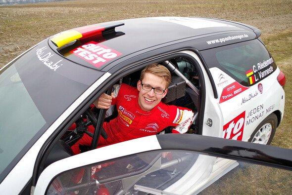 Christian Riedemann geht zum dritten Mal bei der Rallye Portugal an den Start