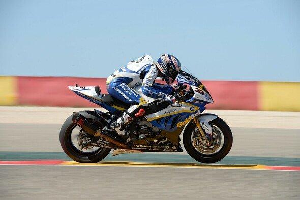 Marco Melandri war nicht wirklich glücklich in Aragon - Foto: BMW AG