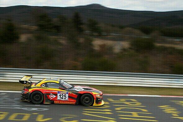 Der BMW Z4 GT3 schied nach einem Unfall aus