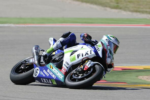 Jules Cluzel war mit seinem starken Wochenende in Aragon zufrieden - Foto: FIXI Crescent Suzuki