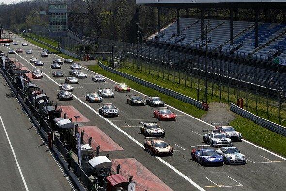 Der Start zum BES-Auftaktrennen in Monza