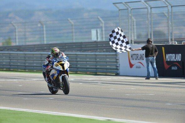 Chaz Davies war im Vorjahr mit seinem Doppelsieg der Star des Superbike-Wochenendes in Aragon