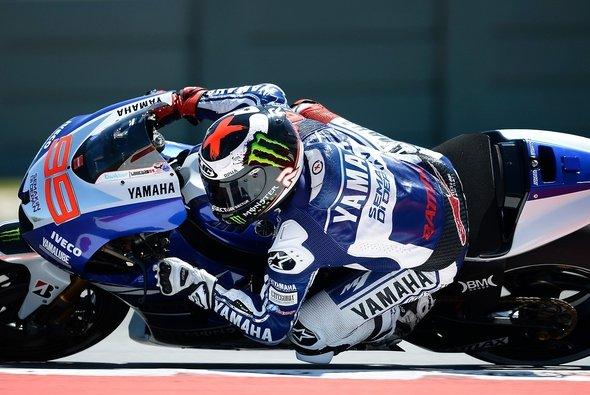 Jorge Lorenzo war bester Yamaha-Pilot im Qualifying