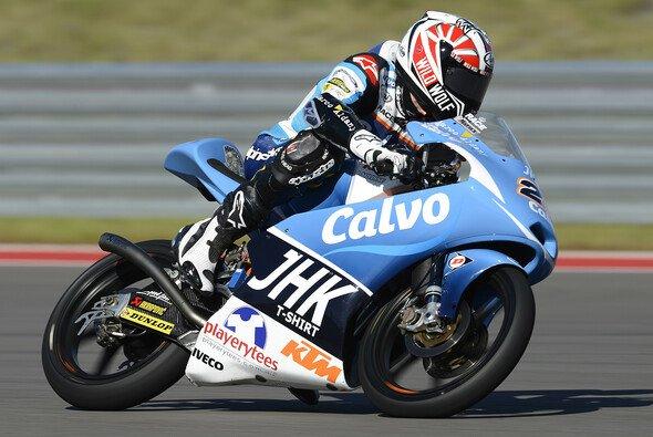 Maverick Vinales gewann das Moto3-Rennen vor Luis Salom und Jonas Folger