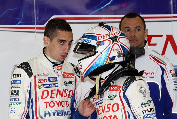 Sébastien Buemi und Anthony Davidson werden von Nicolas Lapierre unterstützt