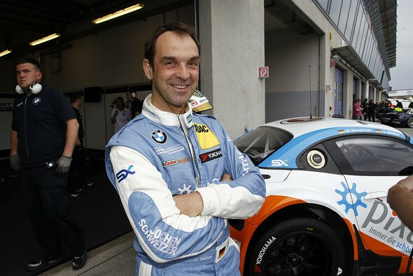 Jörg Müller am Rande des GT-Masters-Gastspiels in Oschersleben