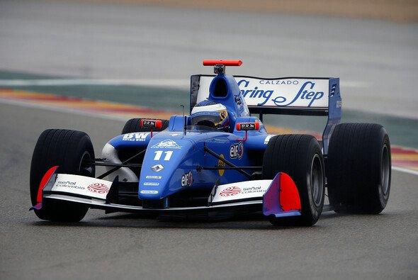 Carlos Huertas holte seinen Premierensieg in der Formel Renault 3.5 - Foto: WS by Renault