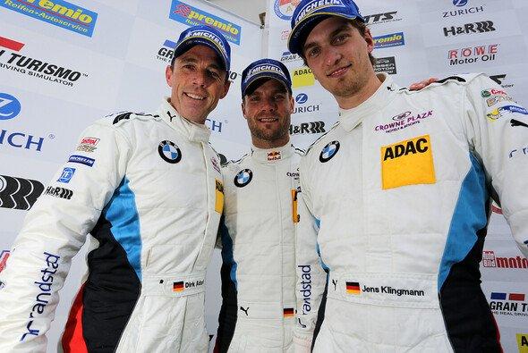 Das BMW Team Schubert trotzte den Wetterbedingungen
