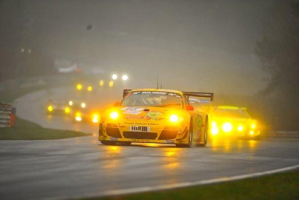 Pierre Kaffer zeigte sich bei seiner Rückkehr in den Porsche 911 stark