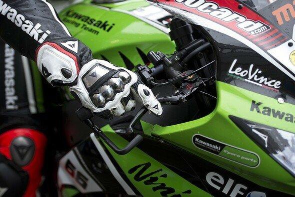 Grün oder Rot - in Assen war das Verhältnis ausgeglichen - Foto: Kawasaki Racing Team
