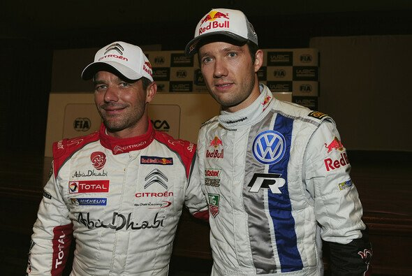Das dritte Duell der beiden Sebastiens endete besser für Loeb - Foto: Volkswagen Motorsport