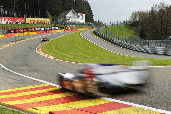 Ein Toyota bei der Le-Mans-Generalprobe in Spa-Francorchamps - Foto: Toyota